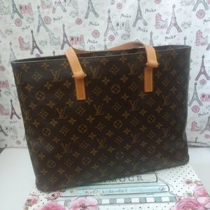 Authentic Retired Louis Vuitton Luco Tote Bag